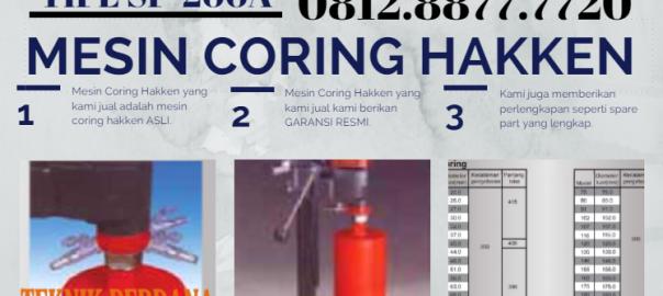 mesin coring