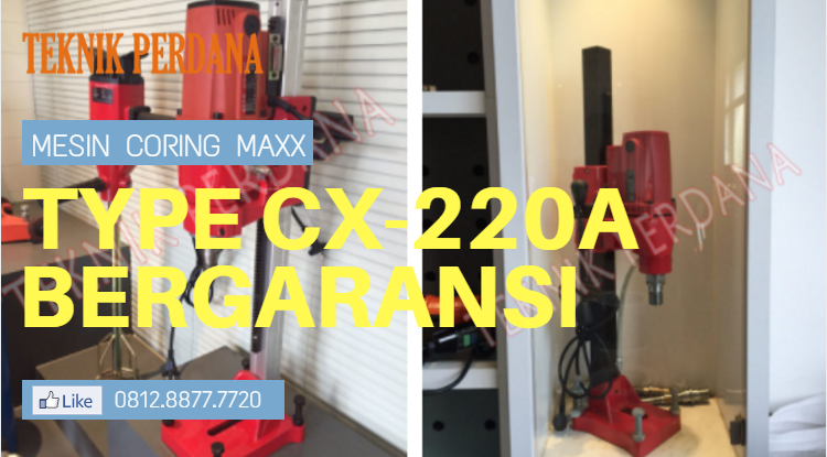 mesin coring maxx type