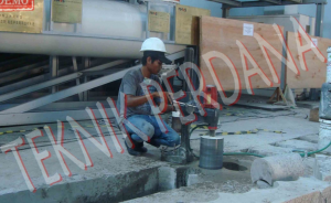 coring beton