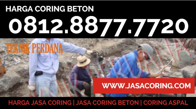 harga coring beton