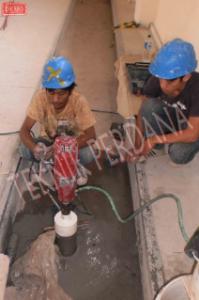 mesin coring beton