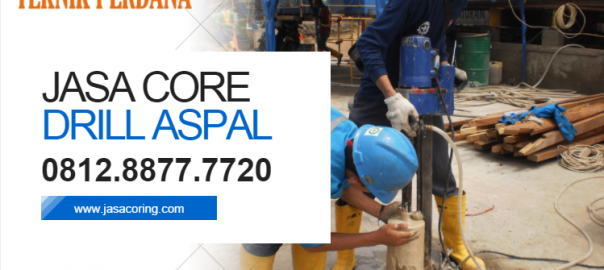 jasa core drill aspal